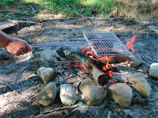 Although Great For The Bbq Grill Long Wired Handles Make Our Baskets Ideal Firepits And Campfires